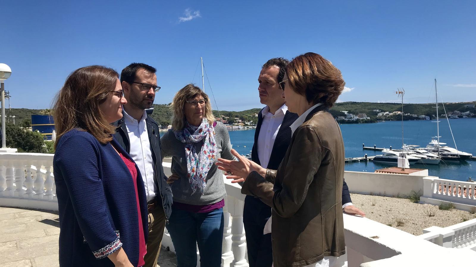 El PSOE vol crear un paquet promocional del Port de Maó que es complementi amb l'oferta cultural