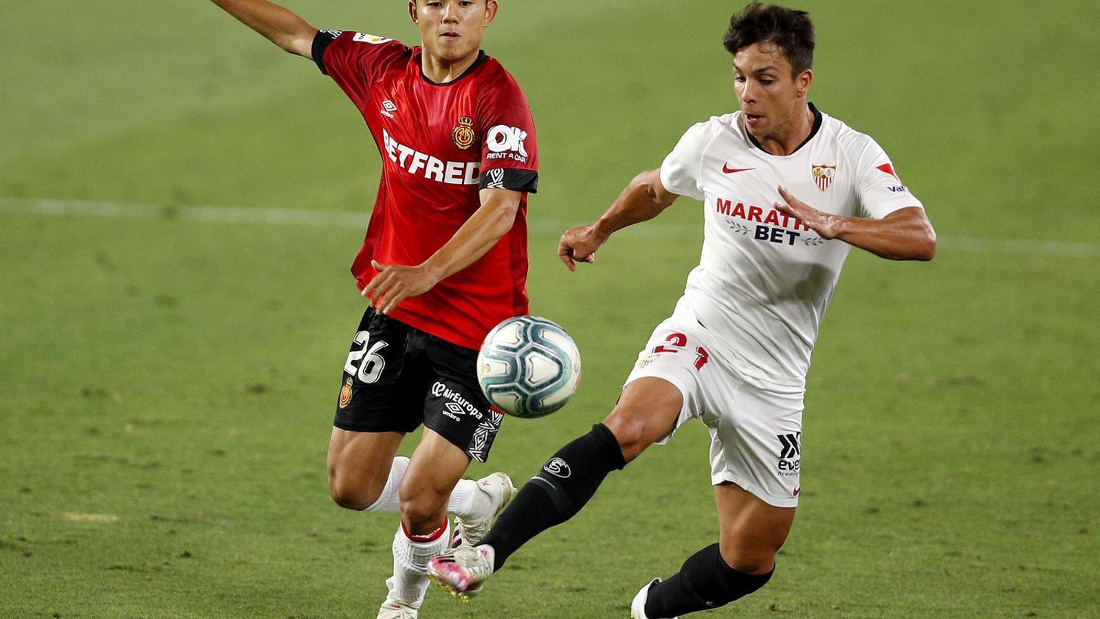 El Mallorca i el Sevilla són dos dels equips de la Lliga que tenen una casa de joc com a principal patrocinador.