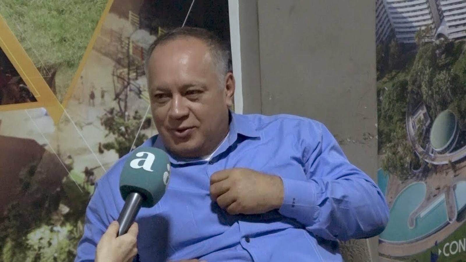 """Cabello: """"Espanya és un govern hostil. Els vam fer fora fa 200 anys i avui seria més ràpid"""""""