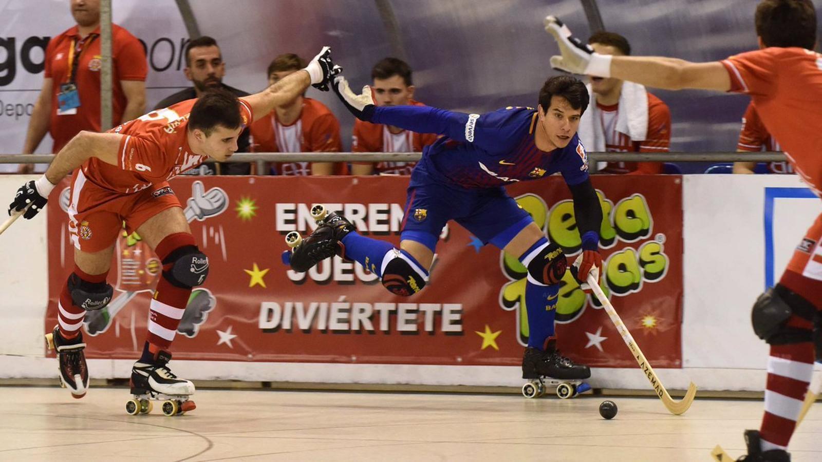 El Barça comença amb una demostració de força contra el Girona  (5-1)