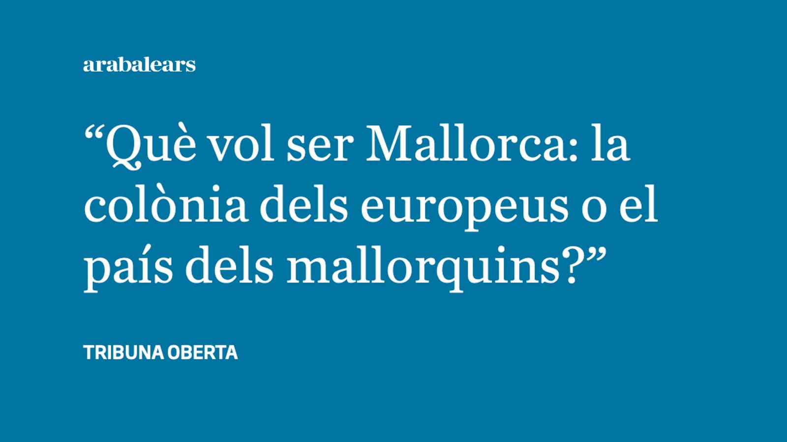 Les Illes Balears, una colònia mediterrània