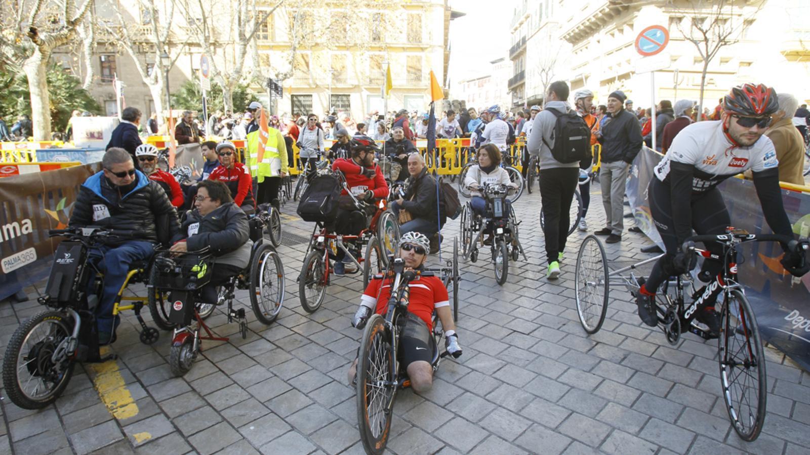 Imatge d'arxiu d'una edició anterior de la Diada Ciclista.