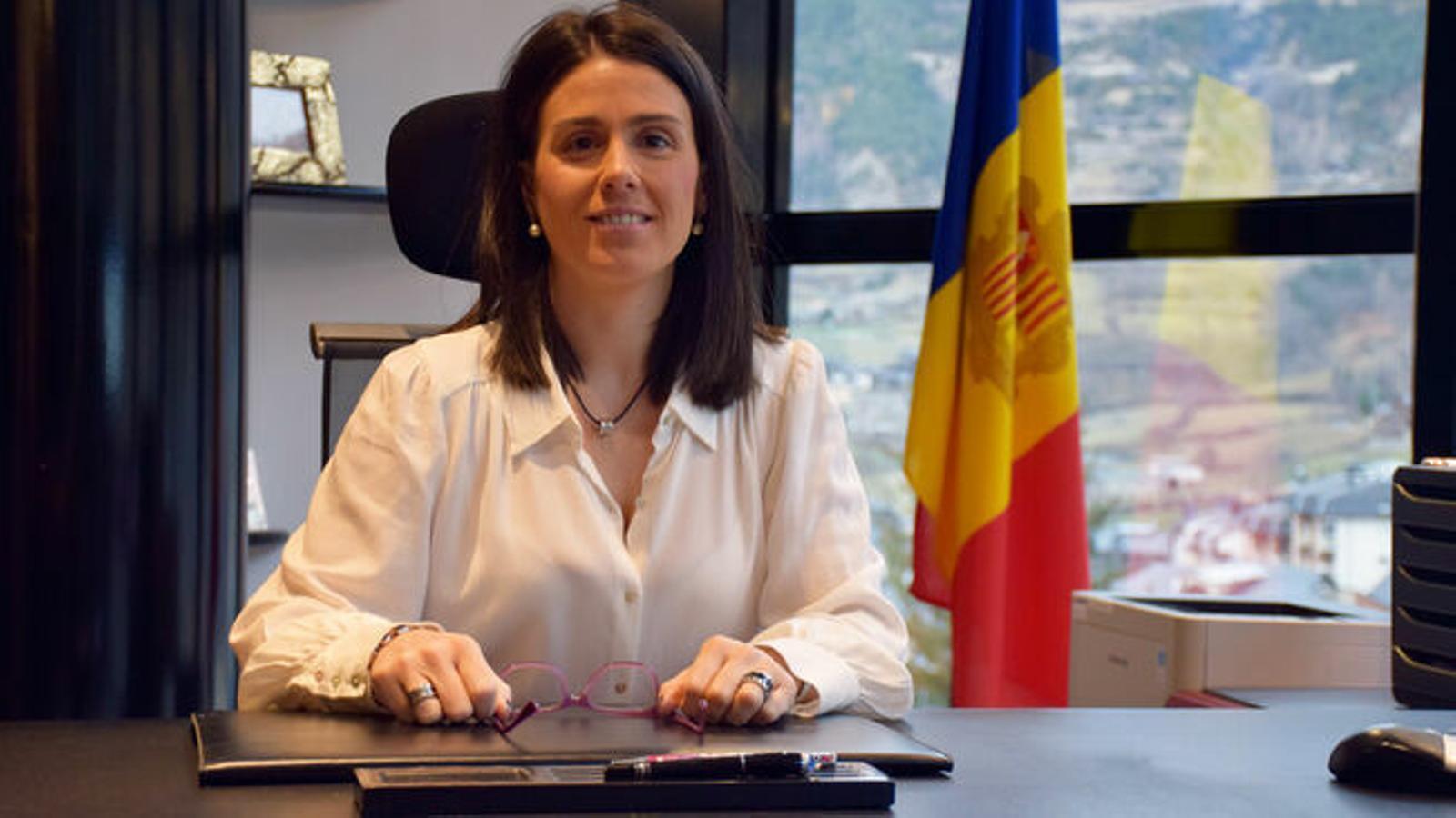 La cònsol major d'Encamp, Laura Mas. / AGÈNCIA ANA