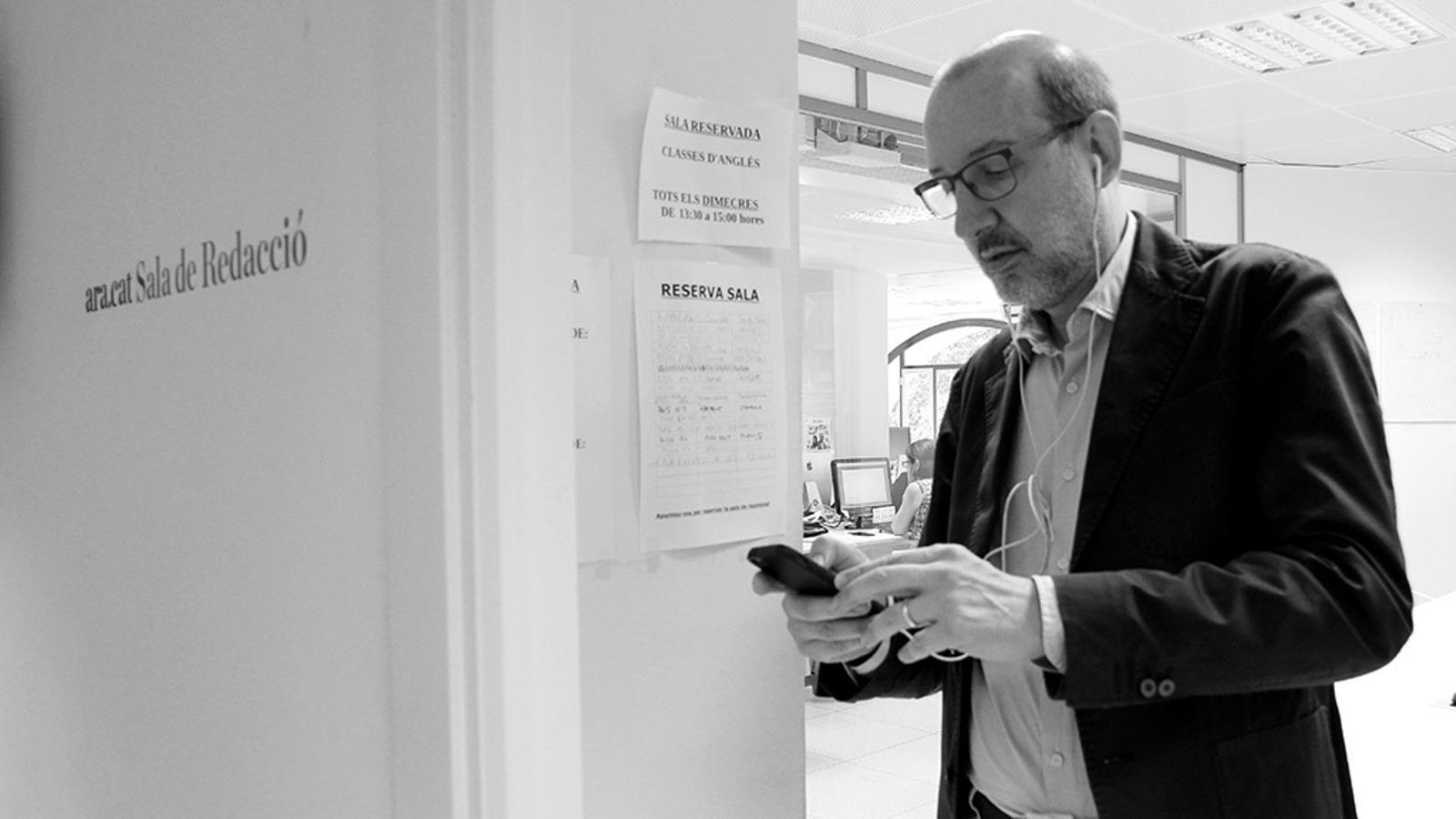 L'anàlisi d'Antoni Bassas: 'El llaç que tanca la setmana:  multa per no animar en espanyol'