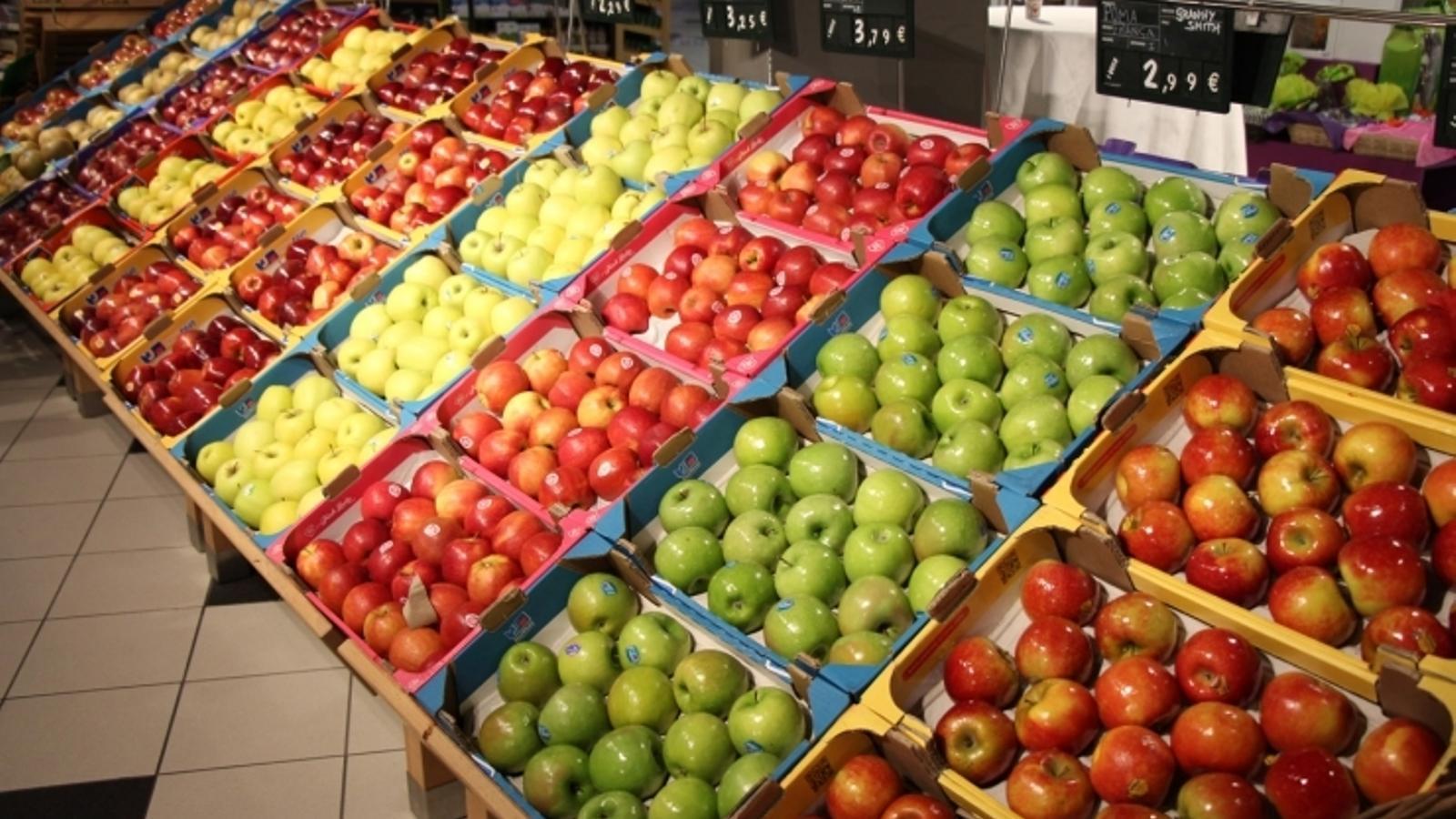 Productes en un supermercat. / ANA