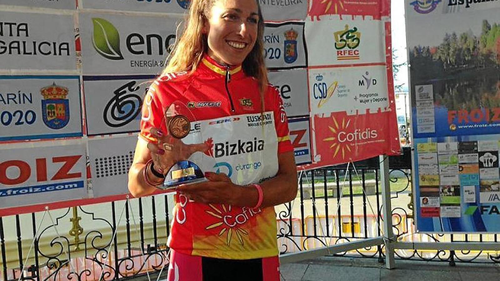 La ciclista balear Mavi García és Campiona d'Espanya elit de contrarellotge