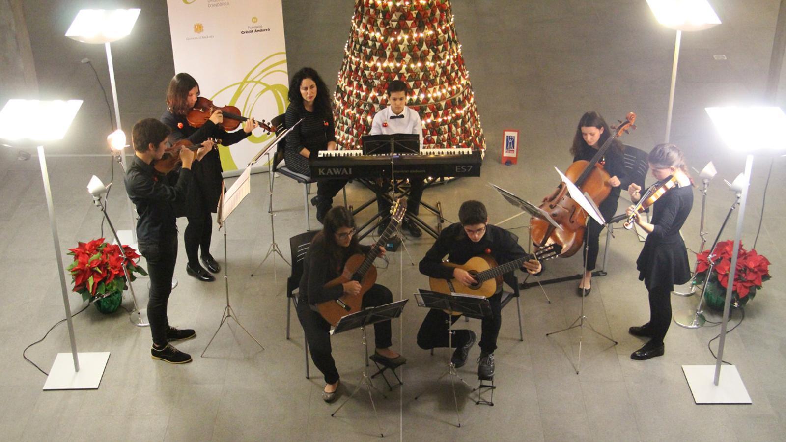 Un moment del primer concert de Jonca Bàsic / ARXIU ANA