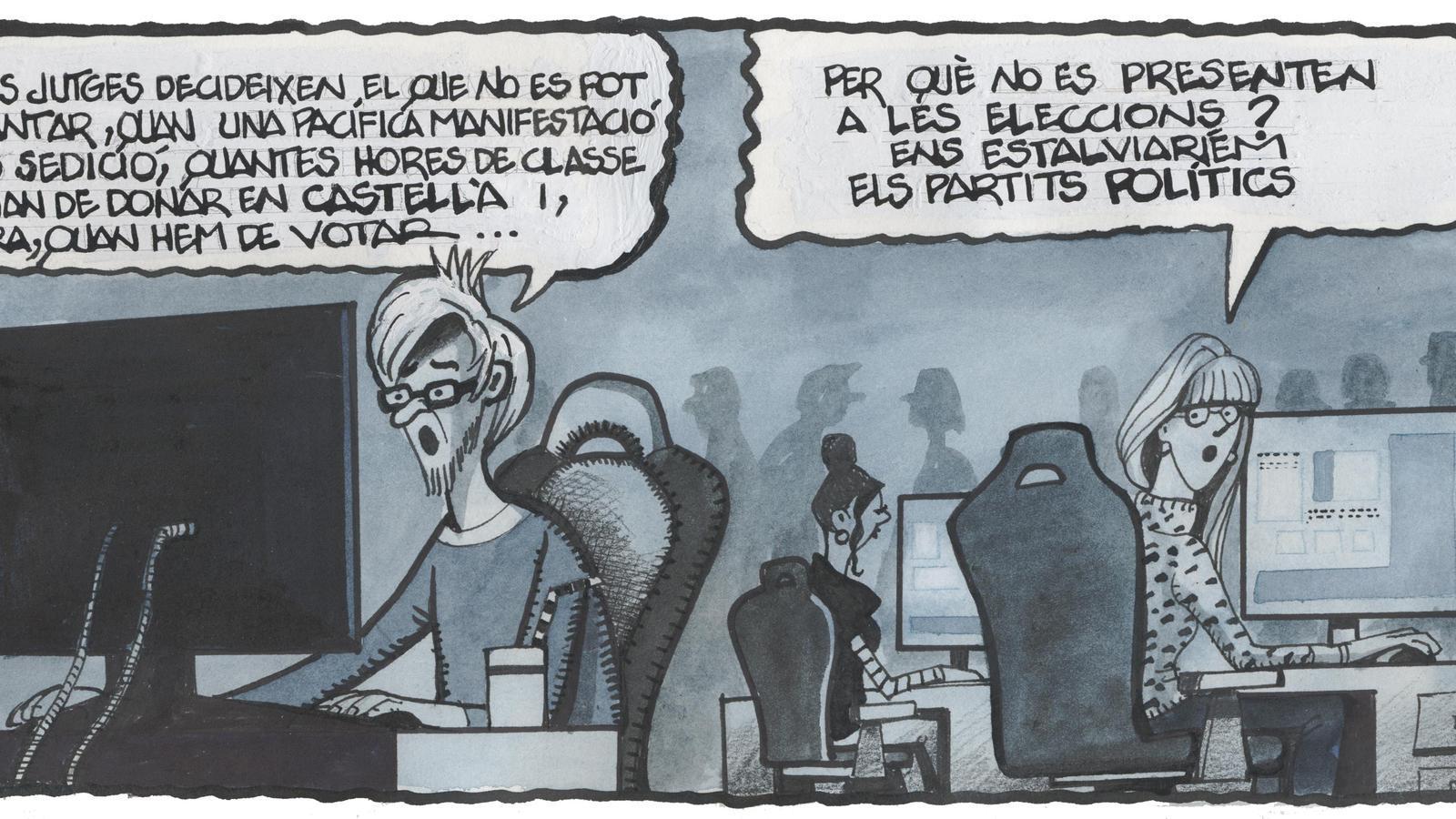 'A la contra', per Ferreres 21/01/2021