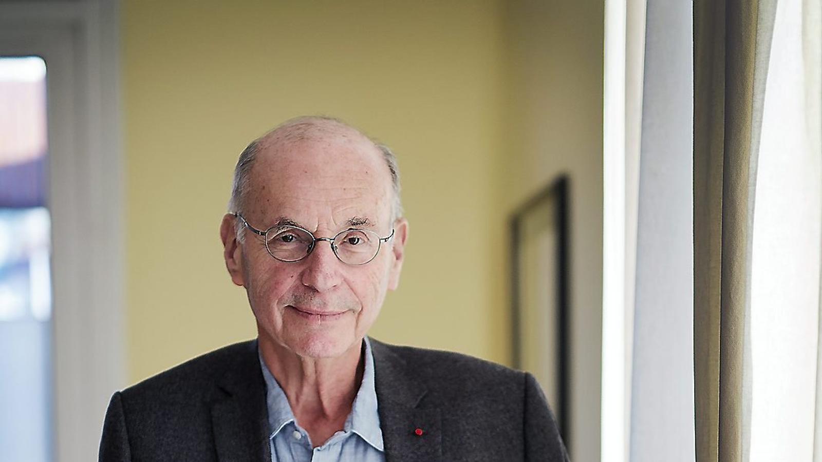 """Boris Cyrulnik: """"L'evolució té lloc després de la catàstrofe, per això sóc optimista"""""""