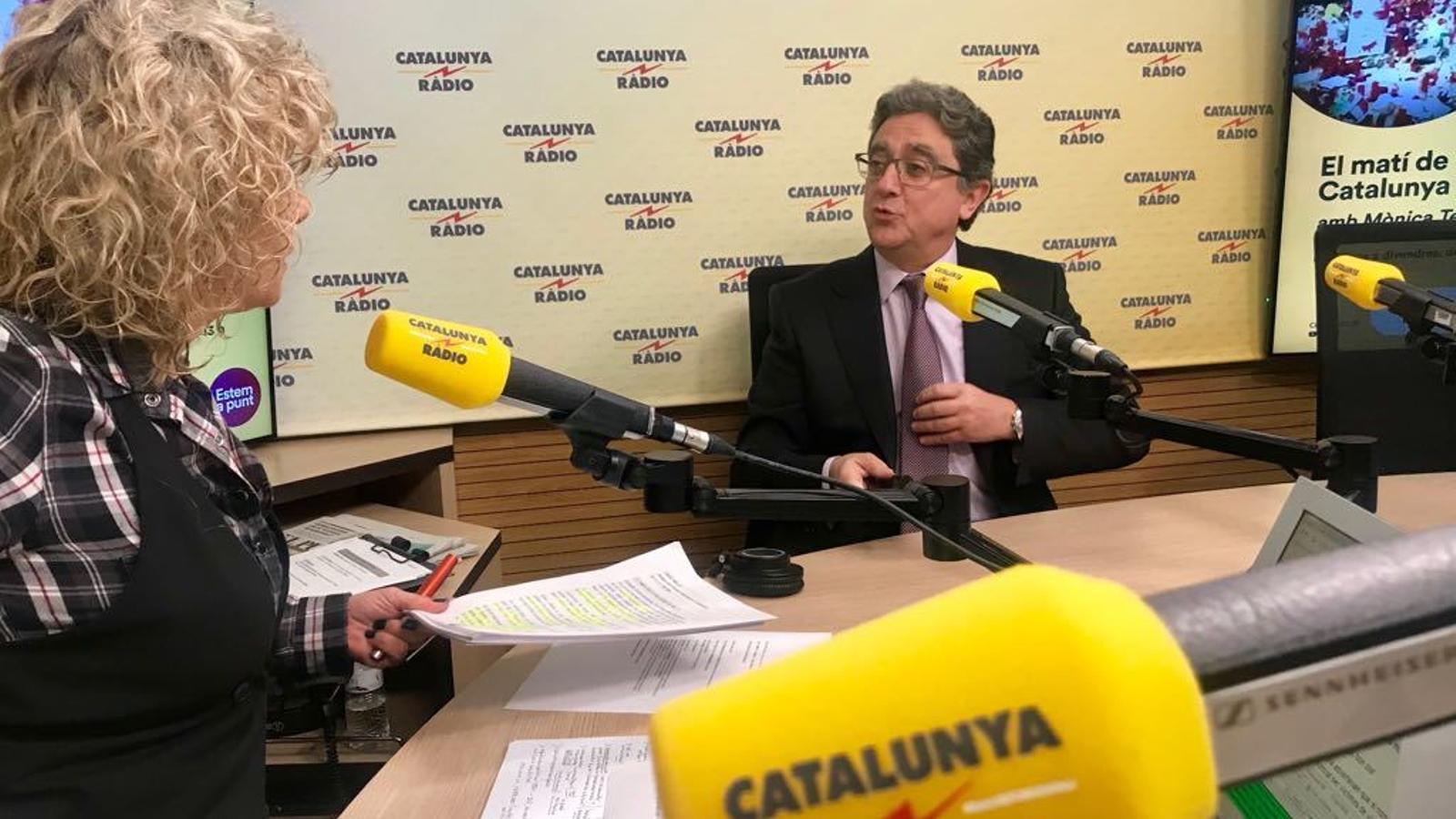Enric Millo, delegrat del govern espanyol a Catalunya, a Catalunya Ràdio