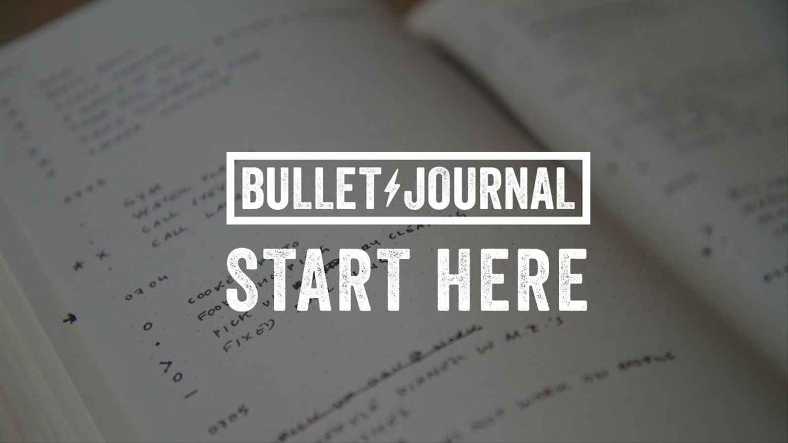 Com fer una 'bullet journal'