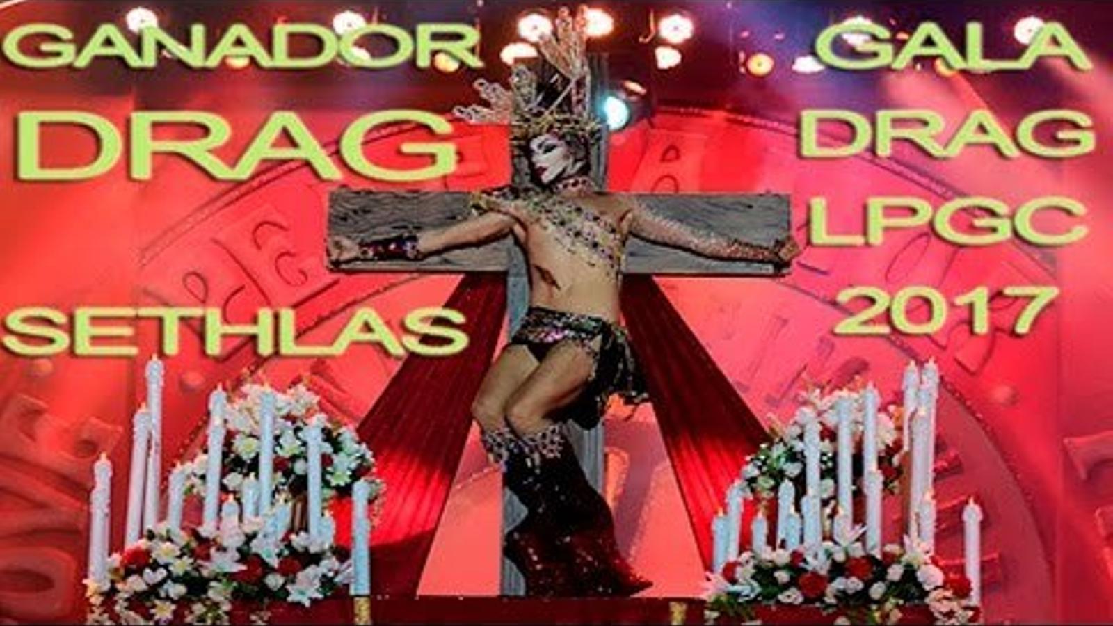 Actuació de la 'drag queen' Sethlas