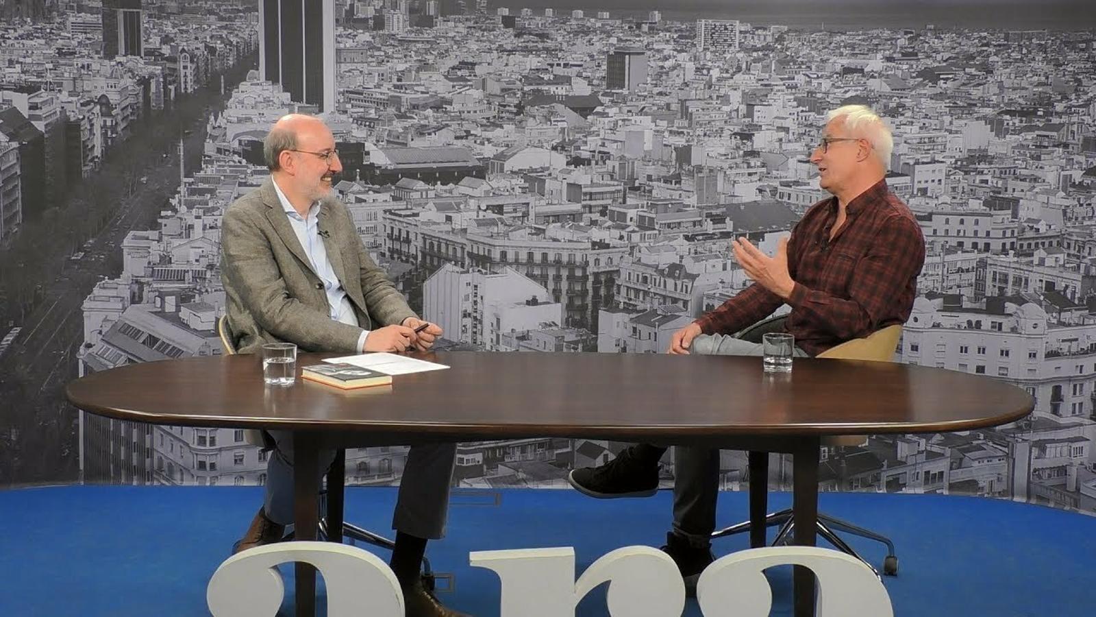 Entrevista d'Antoni Bassas a David Cirici