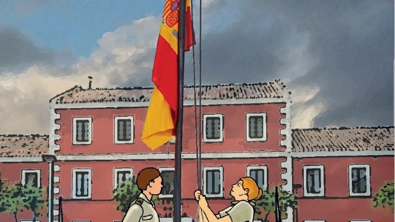 La Comandància General de Balears edita un còmic per explicar als nins què és un militar