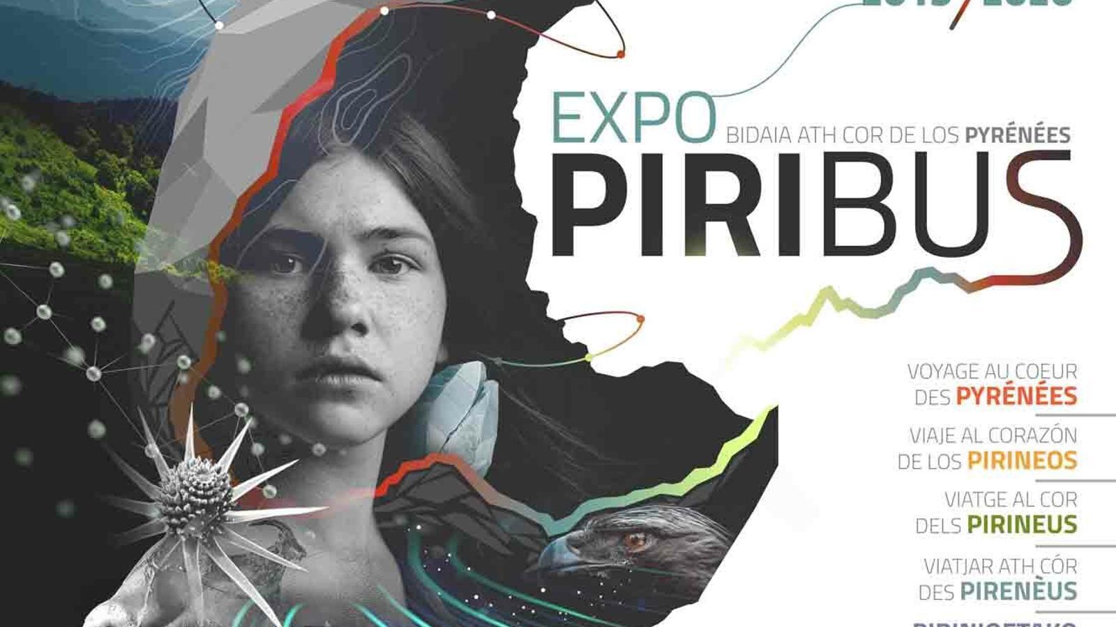 El cartell de l'exposició itinerant del Piribus. / CENMA