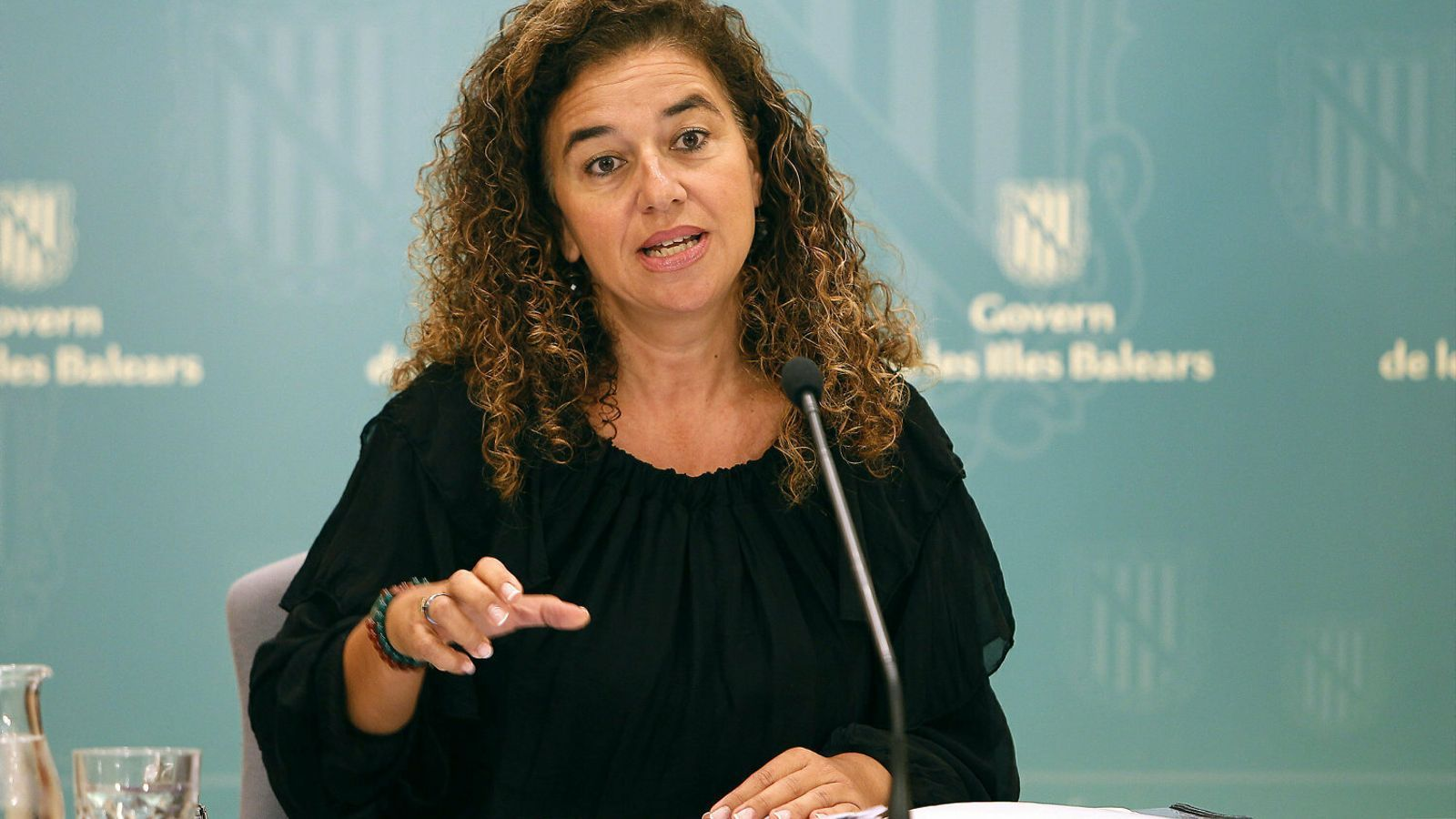 La consellera de Presidència, Cultura i Igualtat i portaveu del Govern, Pilar Costa.