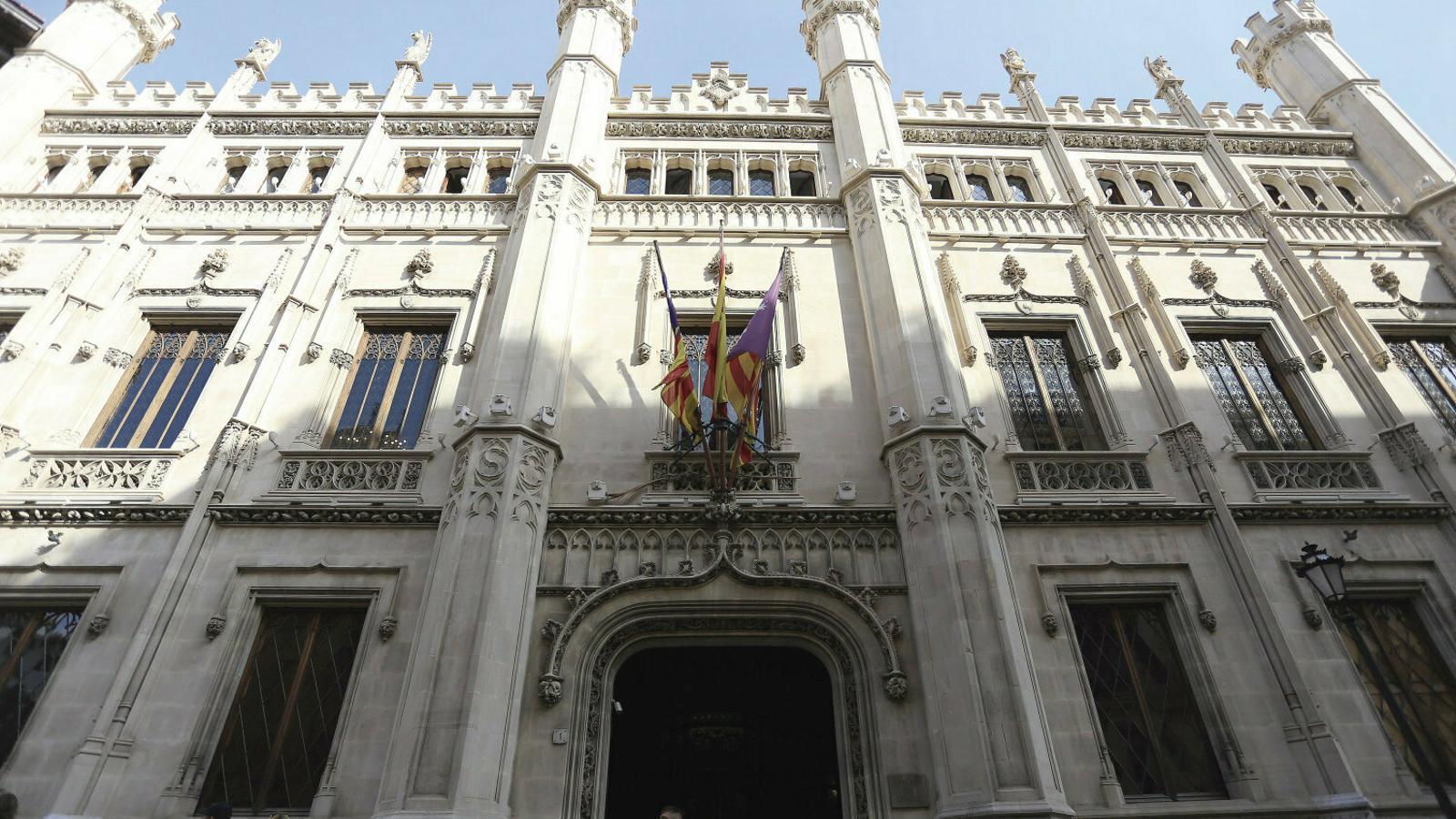 La seu del Consell de Mallorca, en una imatge d'arxiu