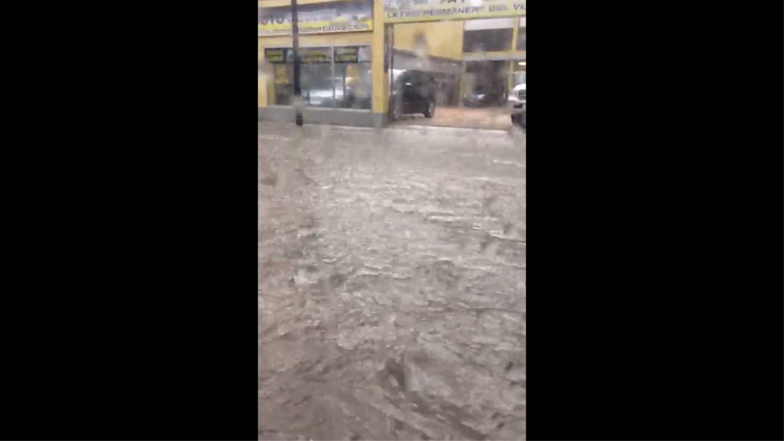 Inundacions a Santa Coloma
