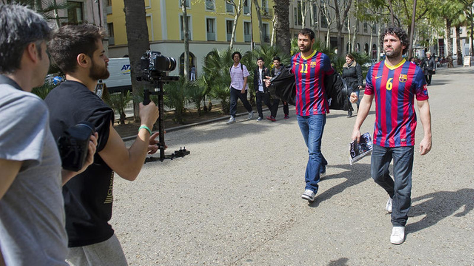 Respon a la crida: el Barça d'handbol demana el suport dels aficionats