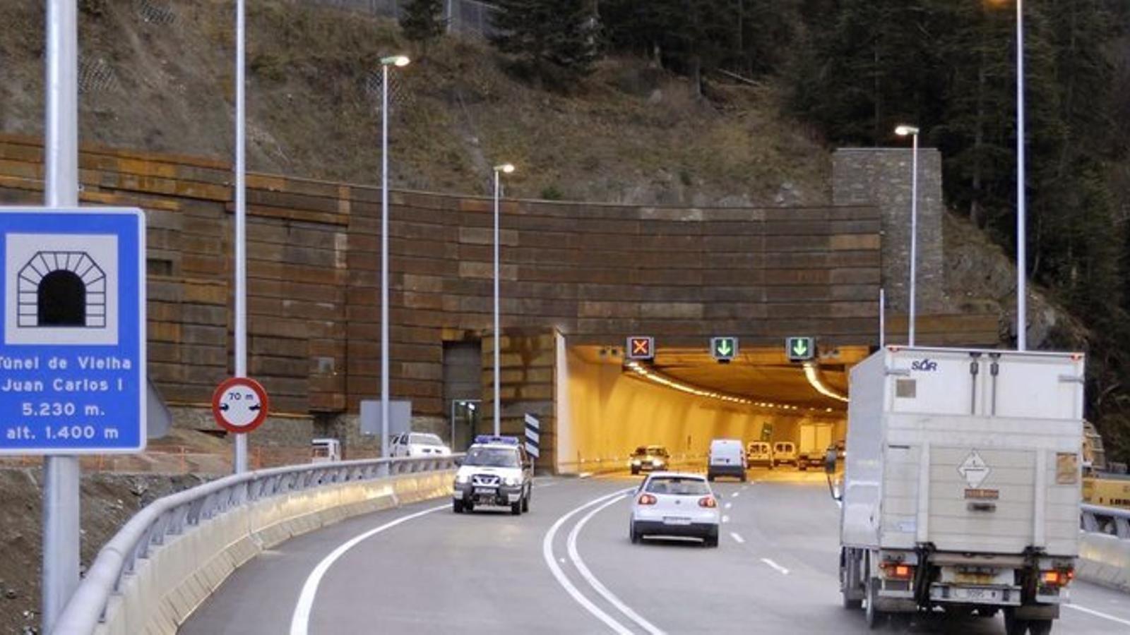 El túnel de Vielha. / ARAN AMASSA