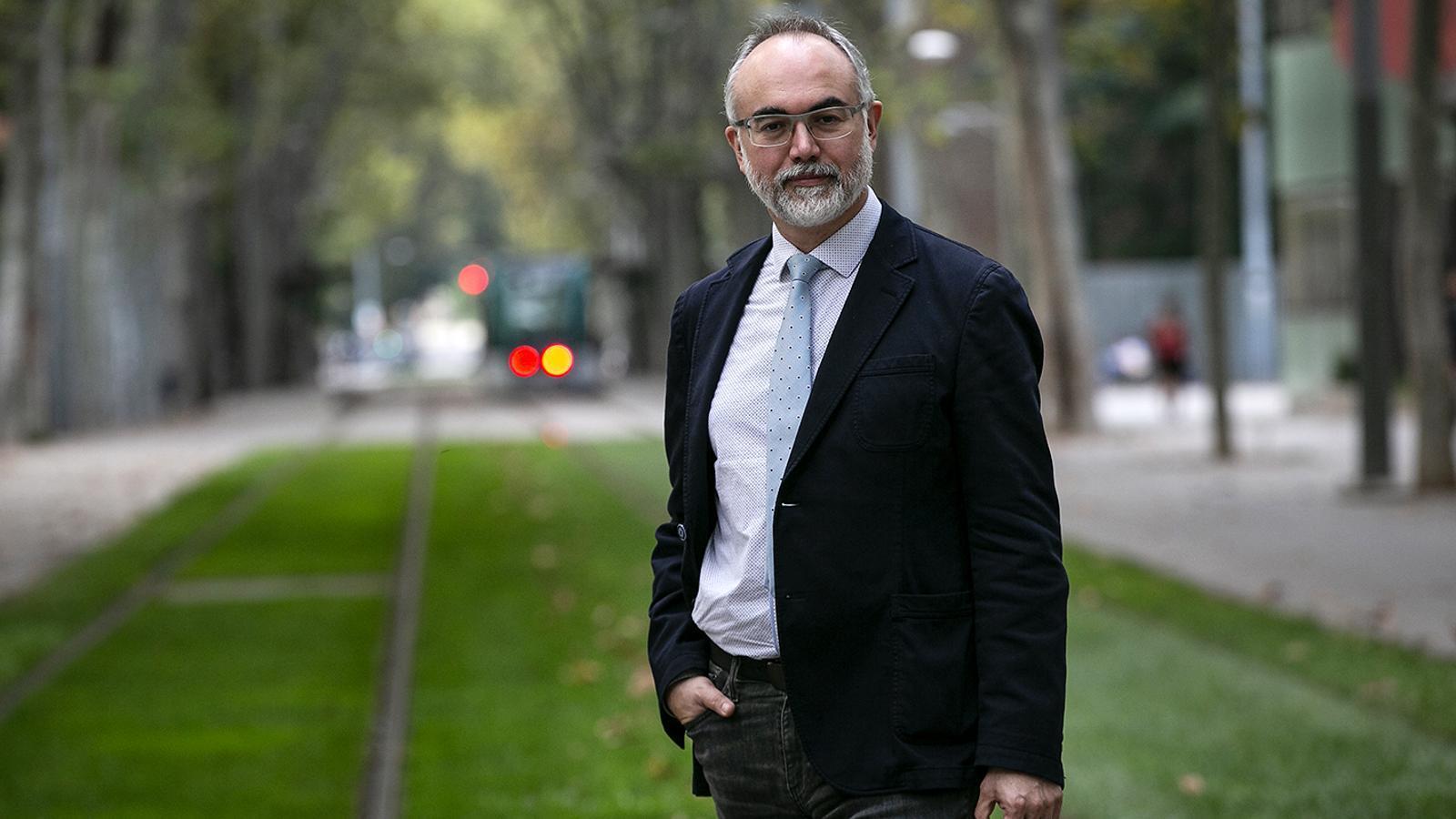 Arcadi Navarro, director de la Fundació Pasqual Maragall