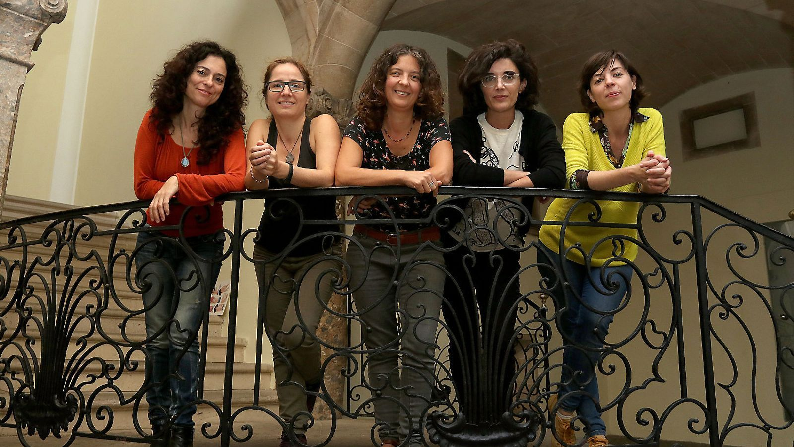 EL TERROR DE LES NENES  Marga Vinyes, Eva Barceló, Nívola Uyá, Enriqueta Llorca i Flavia Gargiulo.