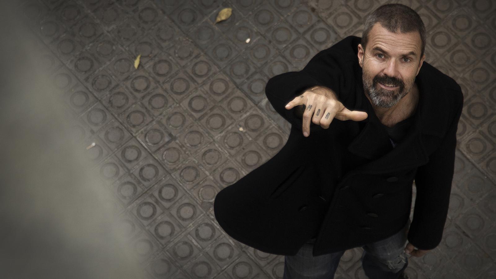 """Pau Donés: """"L'1 de gener pararé. La vida de l'artista és un disbarat"""""""