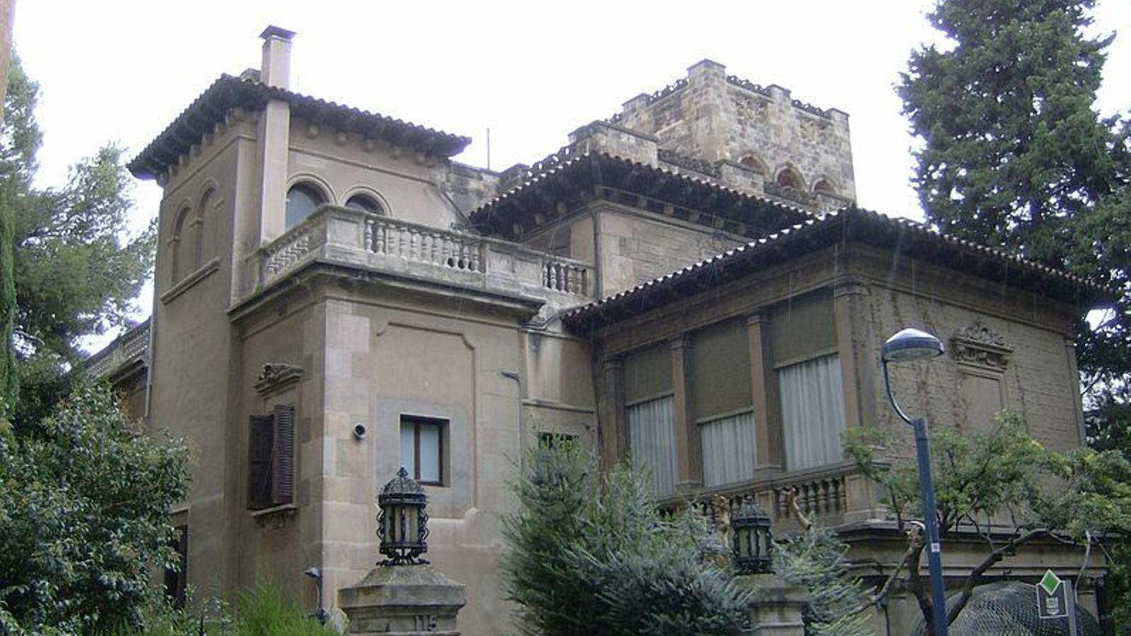 La finca Muñoz Ramonet, a Barcelona