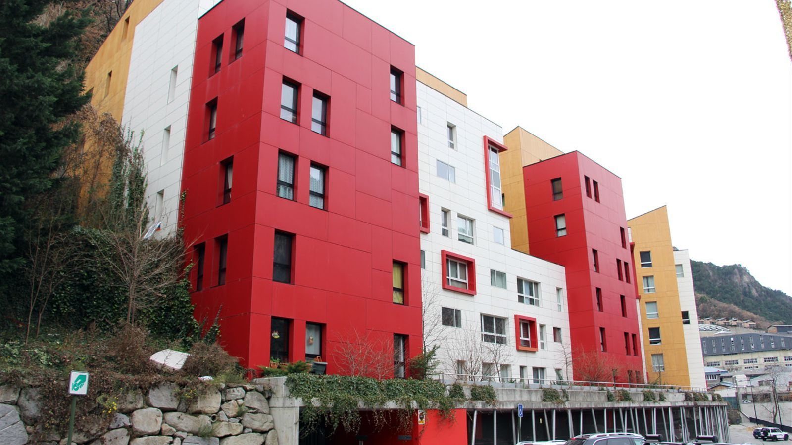 Edifici del Jovial, a Andorra la Vella. / M. F. (ANA)