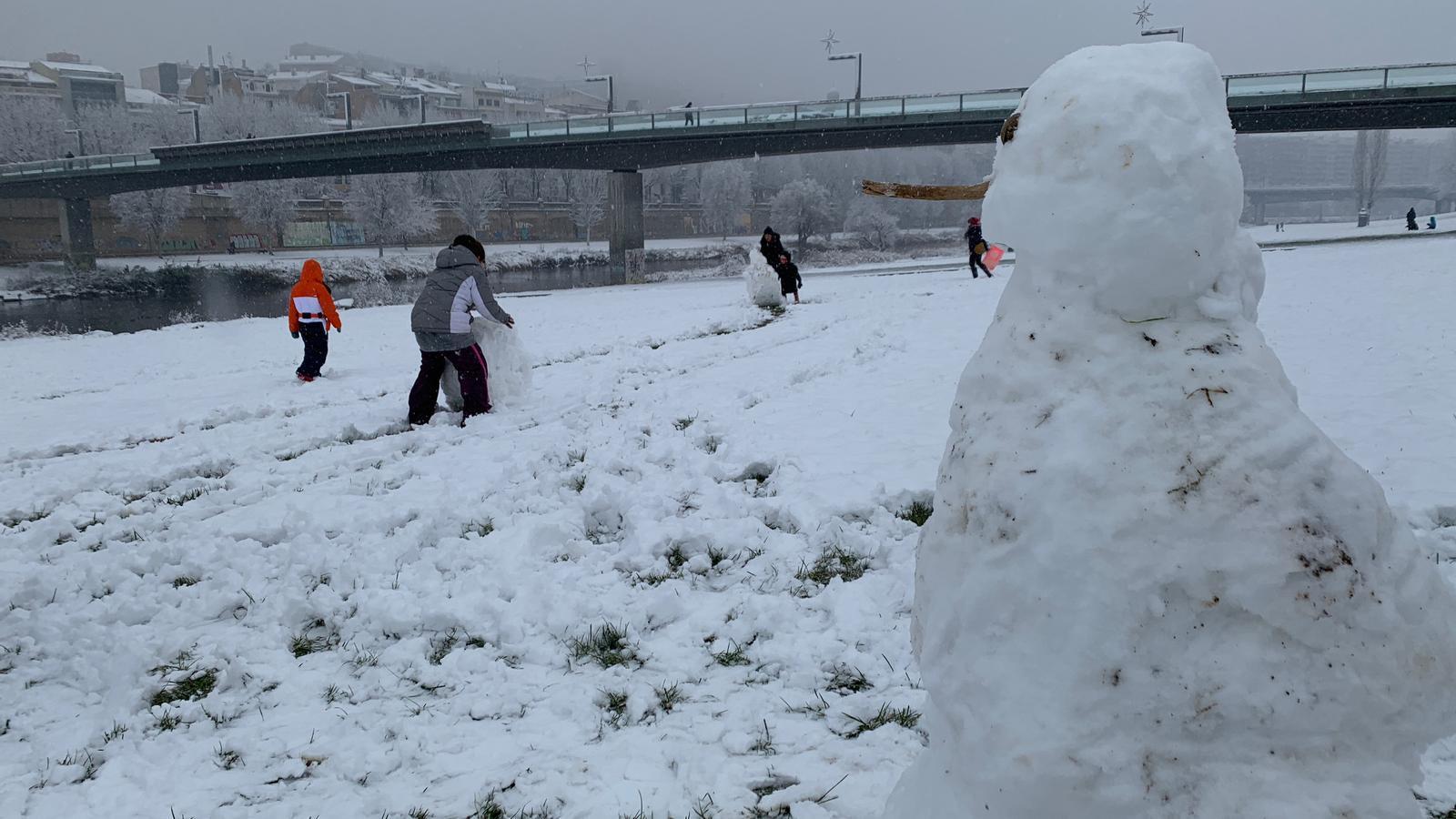 La nevada a Lleida