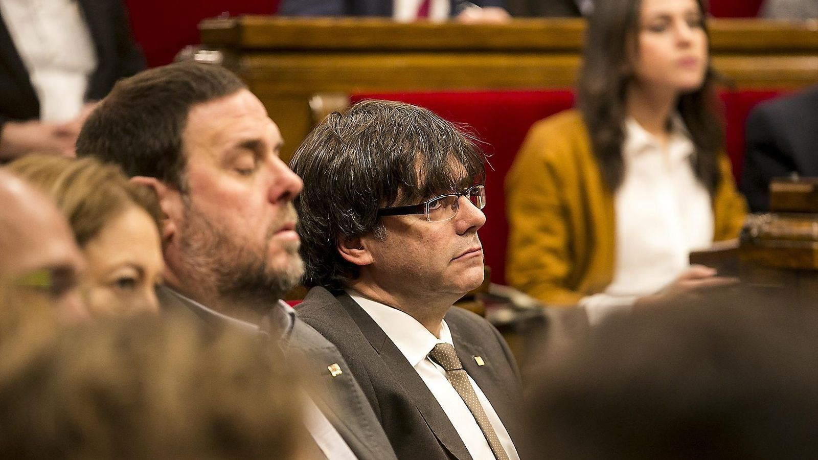 Puigdemont enceta la ronda de contactes amb Arrimadas i Colau