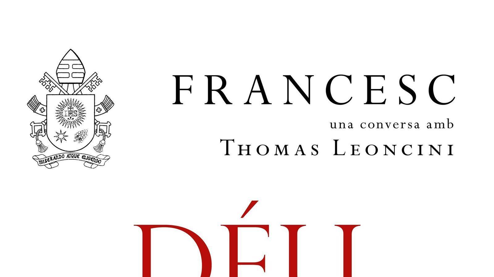 Portada de l'edició en català del nou llibre del Papa Francesc