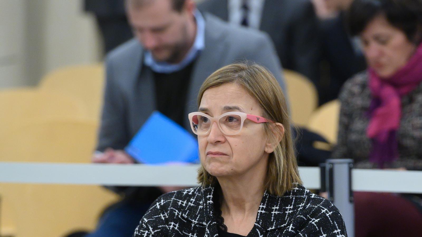 La intendent de Mossos Teresa Laplana, al judici de l'Audiència Nacional