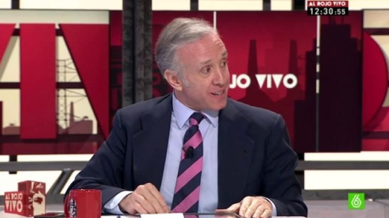 El director d'OKdiario en un programa de La Sexta. / ARA ANDORRA