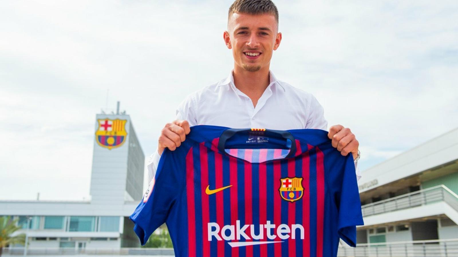 El Barça fitxa el lateral holandès Mike van Beijnen pel filial