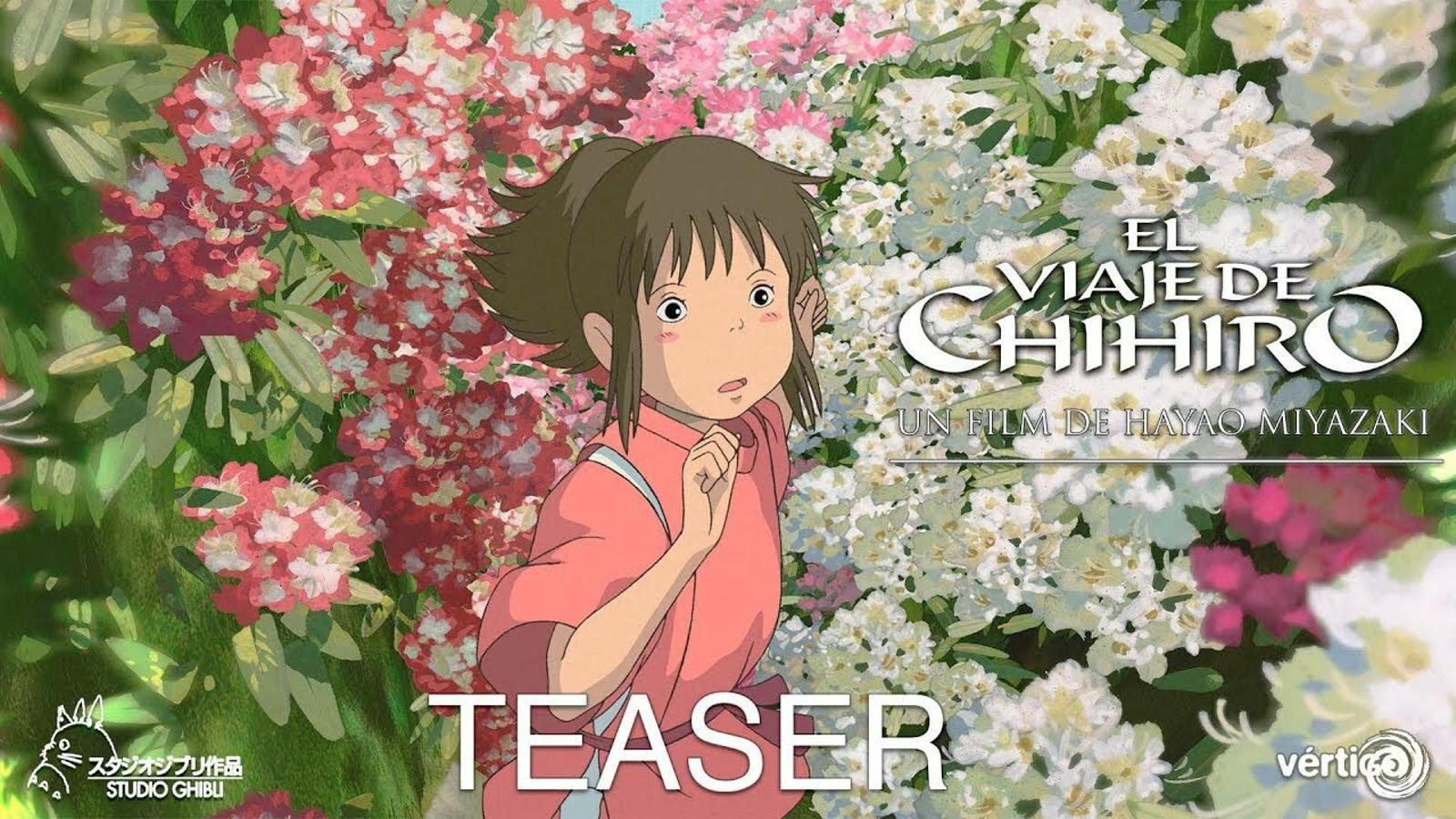 Tràiler d''El viatge de Chihiro', de Hayao Miyazaki
