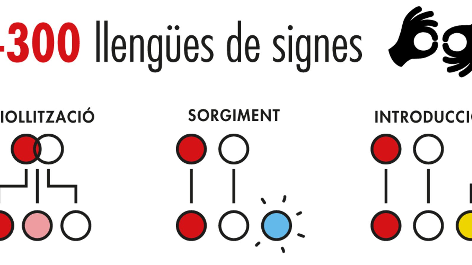 Les llengües de signes, un món per aprendre