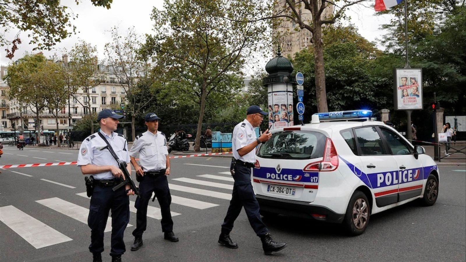 Una falsa alarma desplega una gran operació policial al centre de París