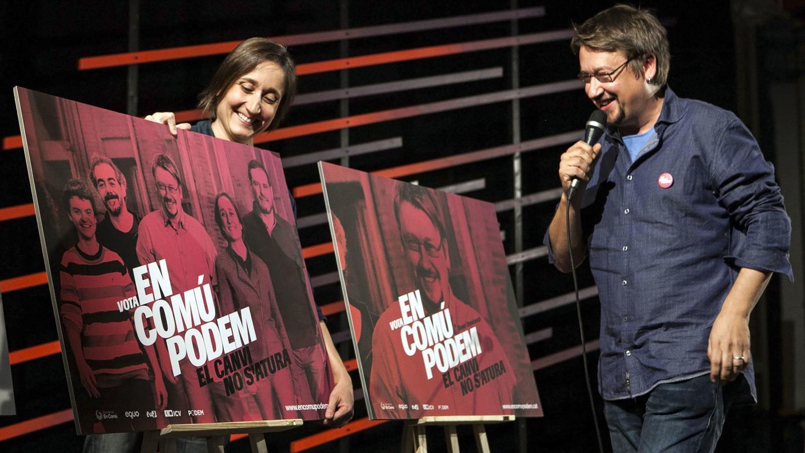 La diputada d'En Comú Podem, Marta Sibina, declina fer campanya per Domènech per equiparar la DUI amb el 155