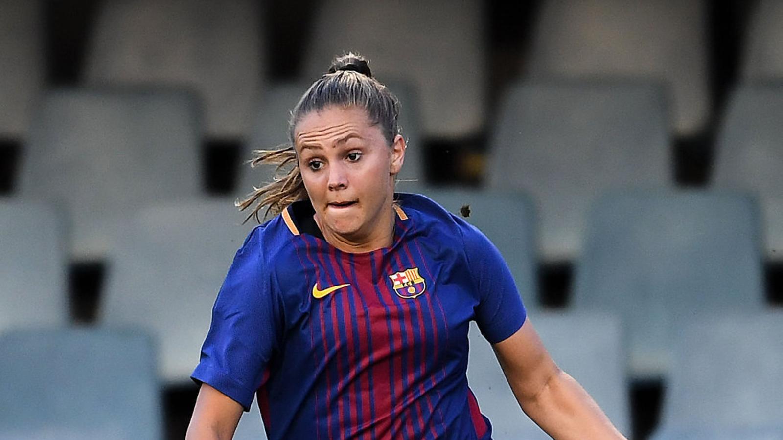 Lieke Martens, guanyadora del premi FIFA The Best com a millor jugadora del 2017, va fitxar pel Barça a l'estiu.