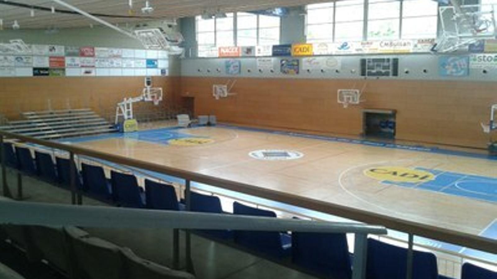 El Palau d'Esports de la Seu d'Urgell. / AJUNTAMENT DE LA SEU