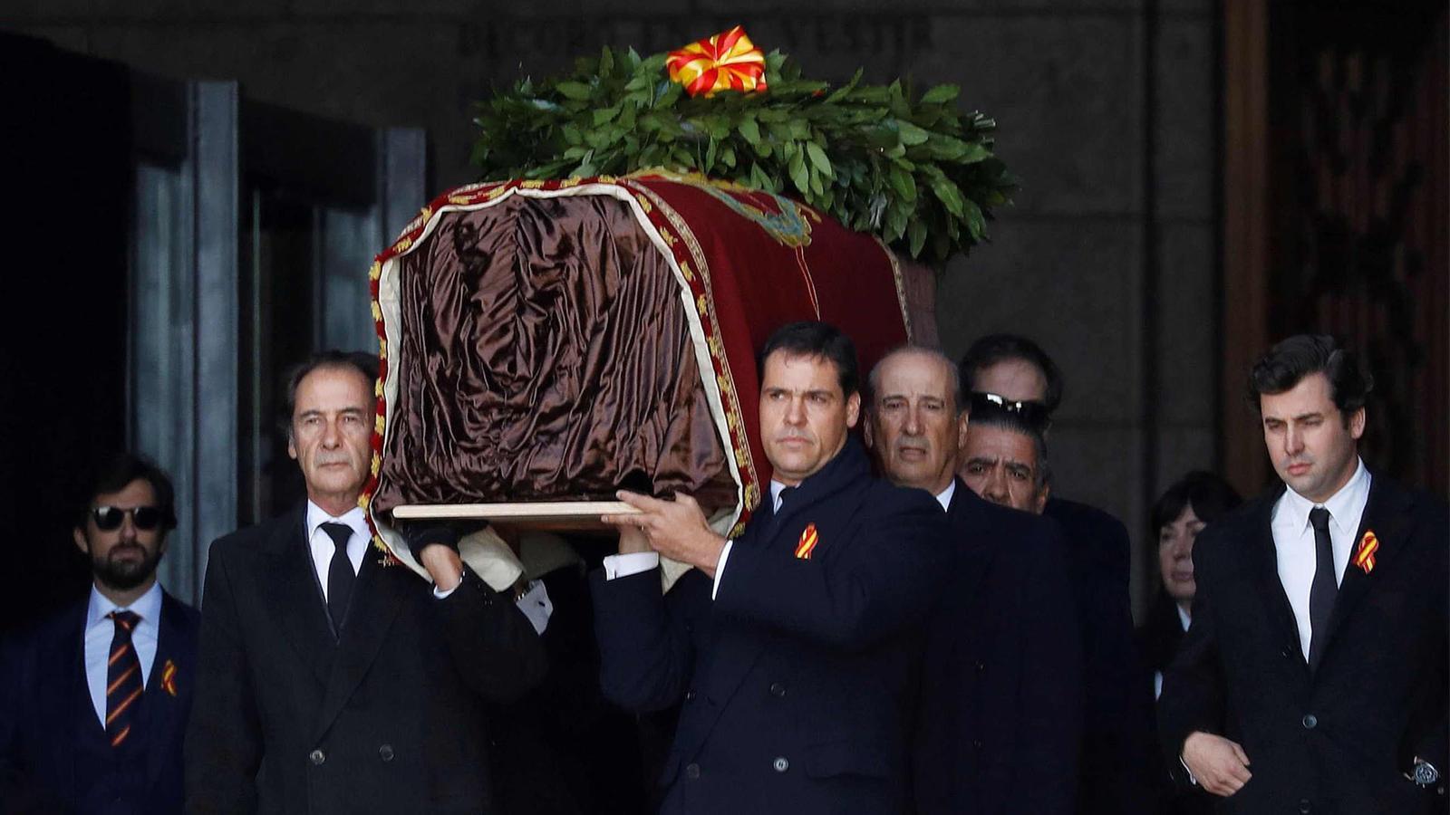 L'exhumació de Franco del Valle de los Caídos
