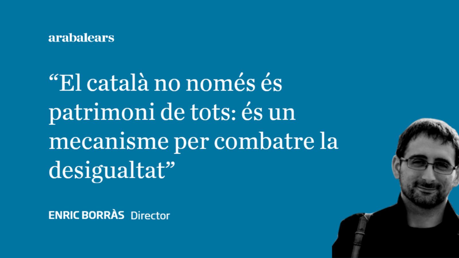 Espòiler: retallar el català és un error