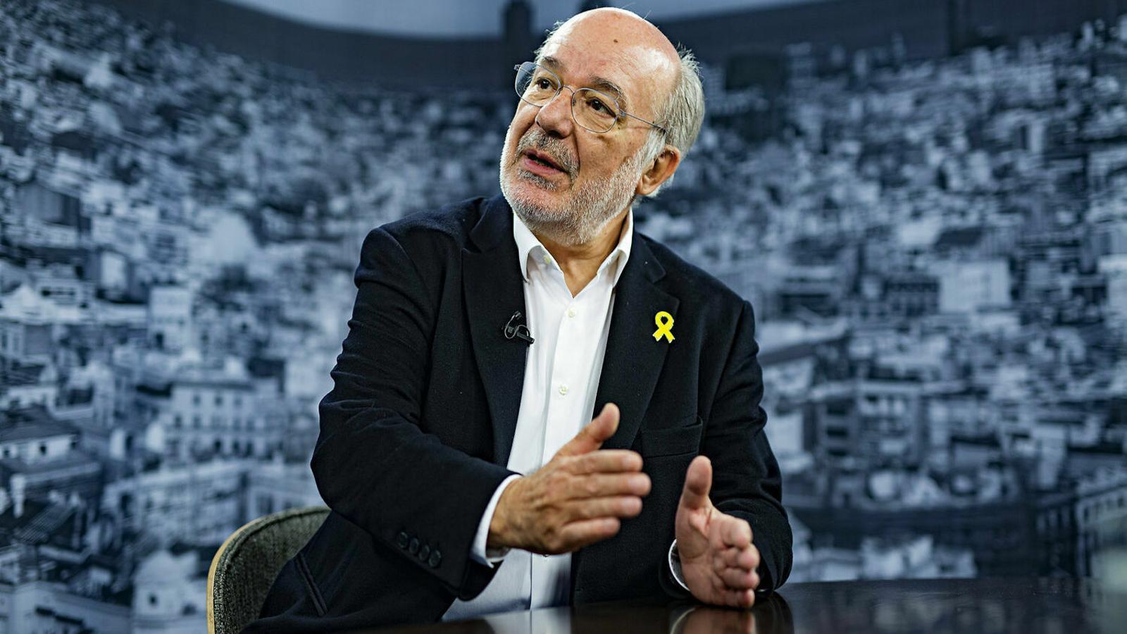 "L'exeurodiputat Terricabras: ""La Unió Europea no existeix"""