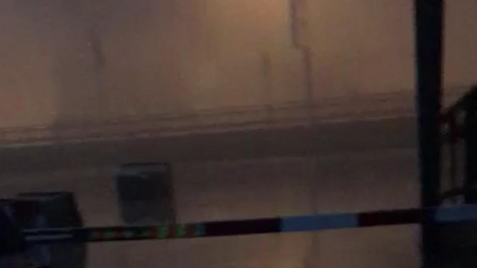Imatges de l'evacuació del centre comercial