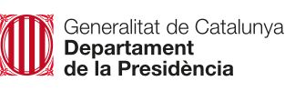 Generalitat de Catalunya Departament de la Presidència