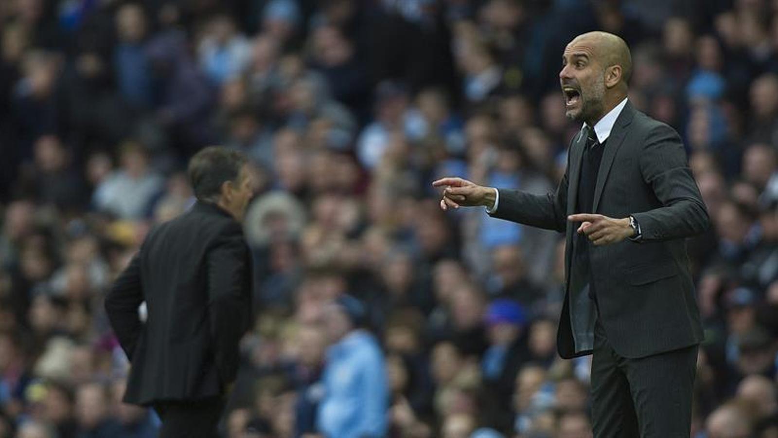 Guardiola, enfadant contra el Southampton