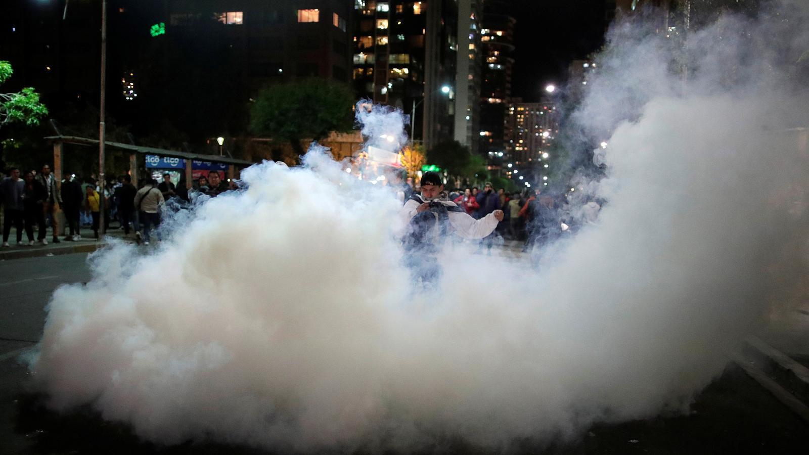La sospita de frau electoral encén els carrers de Bolívia