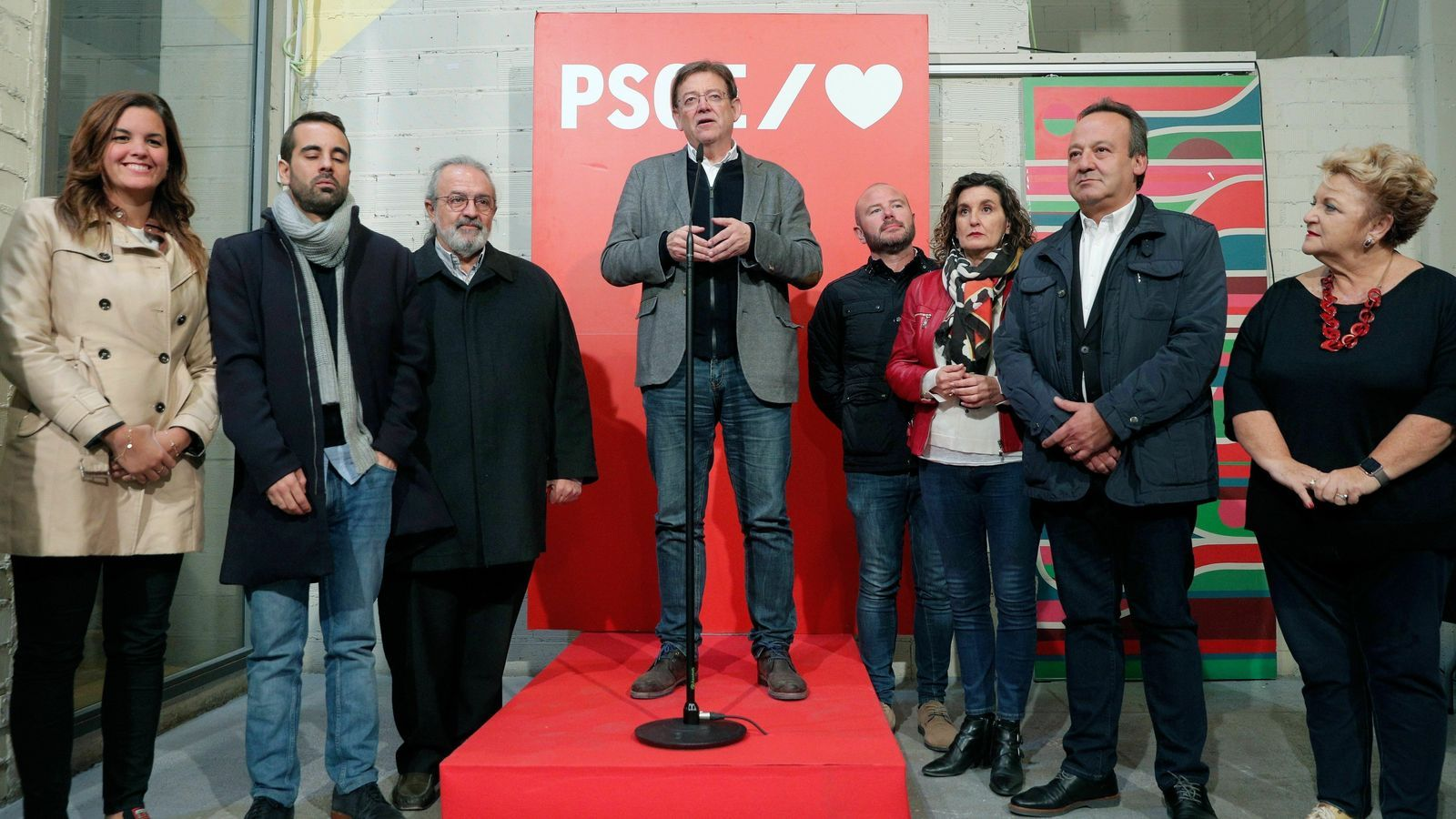 El PSOE repeteix victòria, mentre que Vox gairebé dobla representació al País Valencià