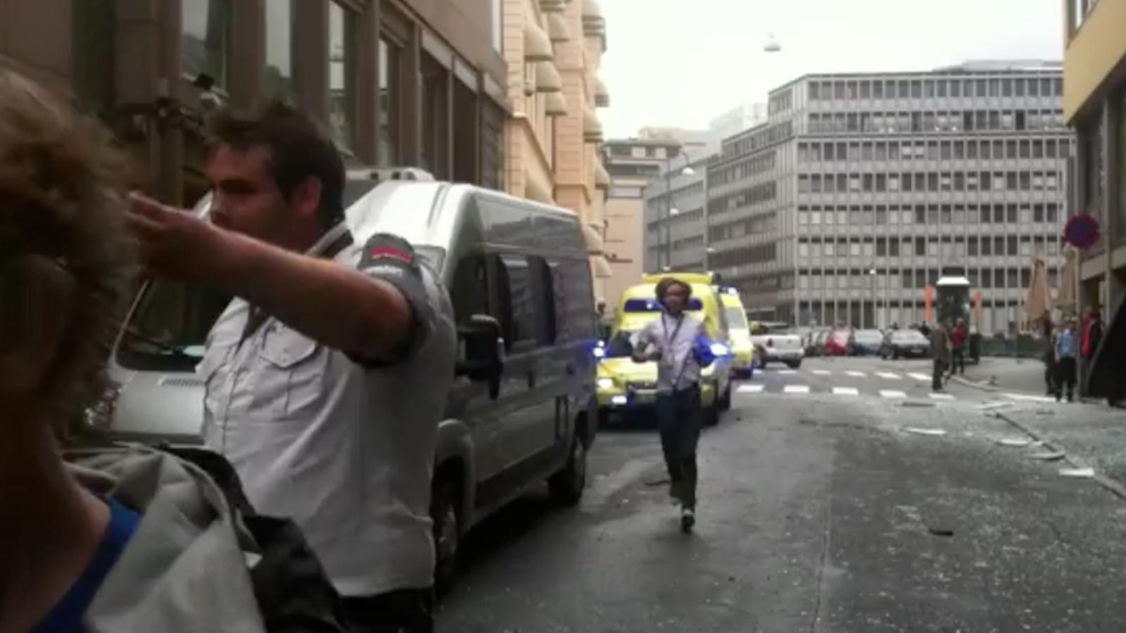 Les primeres reaccions després de l'explosió a Oslo